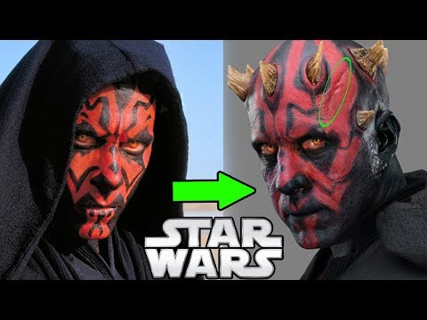 Why Darth Maul's Face looks so different in Solo - Star Wars Explained