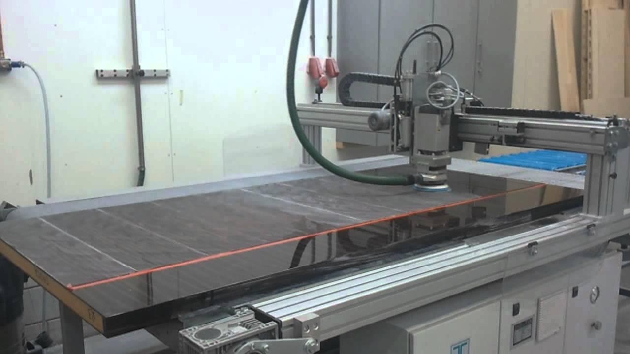 Sanding / Polishing Machine HBS 2500 /1   YouTube