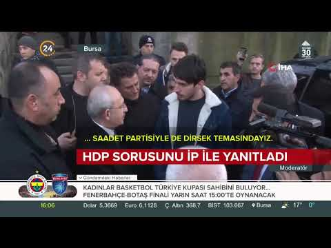 HDP ile ittifak sorusu Kılıçdaroğlu'nu terletti: Bunlarla CHP nasıl iş birliği yapıyor?