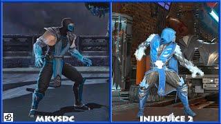 DC Universe MKVSDC Injustice SUB-ZERO Graphic Evolution 2008-2017 XBOX360 PS4