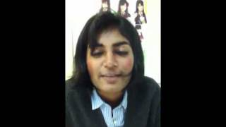 A Indian fijian girl is speaking fluent Chinese and Japanes