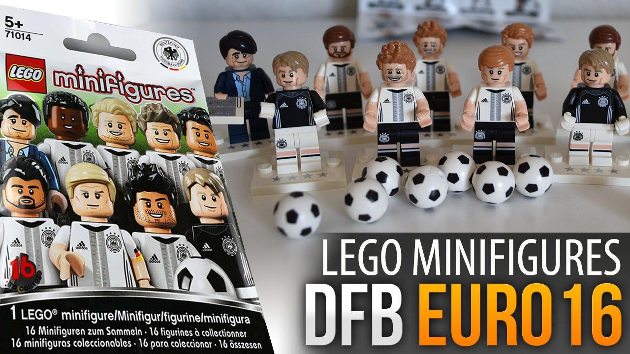 Lego Minifigures Dfb Euro 2016 Unboxing Youtube