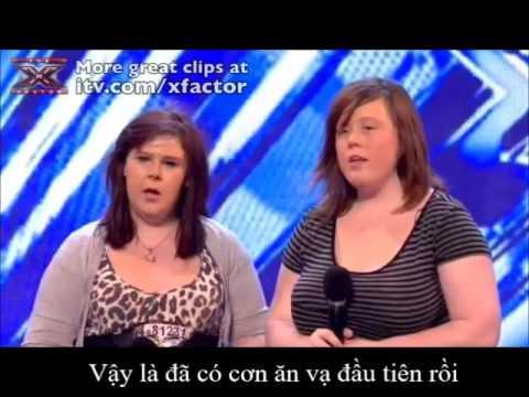 """(Vietsub theo yêu cầu) Hai thí sinh thô lỗ nhất """"choảng"""" nhau trong X-Factor UK"""