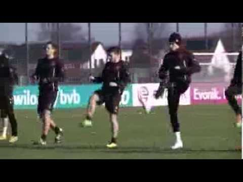 Milos Jojic beim ersten Training: Ein Kroos für den BVB | Von Partizan Belgrad zu Borussia Dortmund