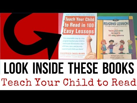Look Inside | Teach Your Child To Read 100 Easy Lessons Vs The Reading Lesson 20 Easy Lessons