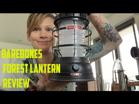 Barebones Forest LED Lantern Review - Daisy's Out There