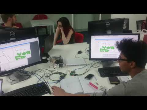 Whiteboard Chat For Raspberry Pi