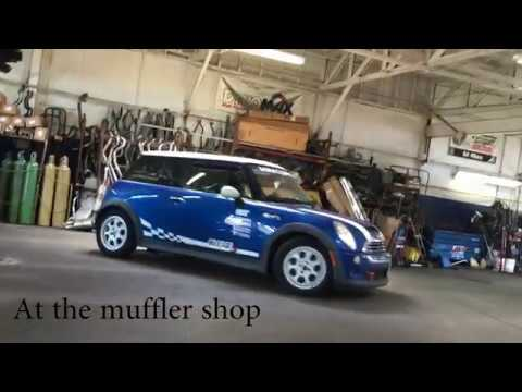 2005 Mini Cooper S R53  One Ball Exhaust Mod Comparison Reuploaded