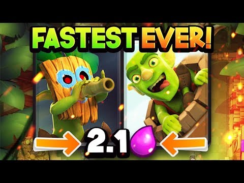 FASTEST Bait Deck EVER?! 21 Elixir Cycle is SO CHEAP!