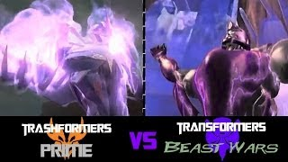 TFP Transformers: Prime VS TF Beast Wars