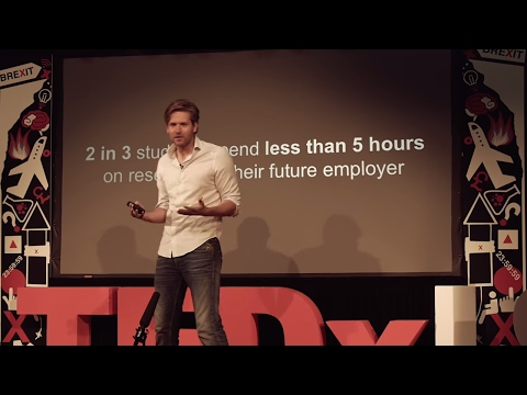 The job of going from campus to career | Vincent Karremans | TEDxLSE