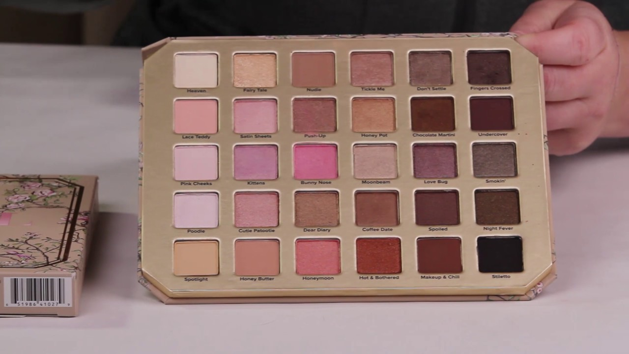Too Faced Natural Love Ultimate Neutral Eyeshadow Palette Review