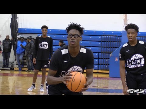 Maryland Commit Drops 31!!! Jalen Smith Raw Highlights vs  DeMatha