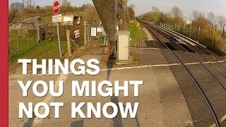 The Level Crossing You Have To Power Yourself