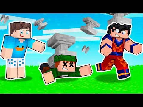 Minecraft, mas CHUVA DE BIGORNAS A CADA 30 SEGUNDOS!