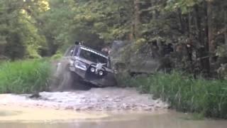 УАЗ Патриот на тракторной резине и мостах БТР 80