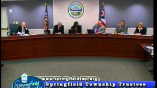 Part 1 Civil  Rights Violations Sept 2011 Springfield Township Ohio Trustees Meting