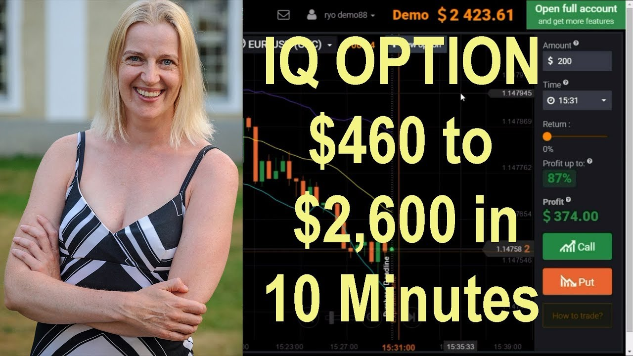 IQ Option Robot Vs Autotradingbinary Trading Binario Online Recensioni Italia