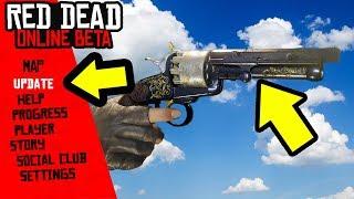 SECRET NEW Red Dead Online Update! LetMat Revolver Trick!