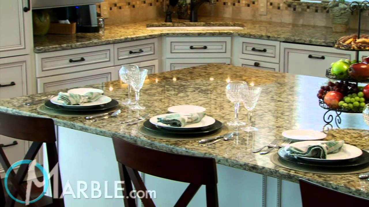 Golden Butterfly Granite Kitchen Countertops By Marble Com