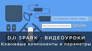 DJI Spark - Видеоуроки - ключевые компоненты и параметры
