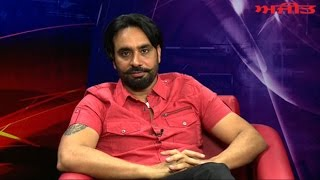 "Babbu Maan Popular Singer & Actor of Punjabi Film ""Baaz""  Interview on Ajit Web Tv."