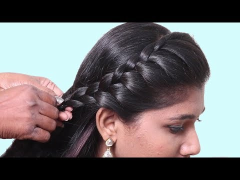 Easy Everyday Side Puff Hairstyle || How to do Hairstyles for girls || Hairstyles 2019 thumbnail