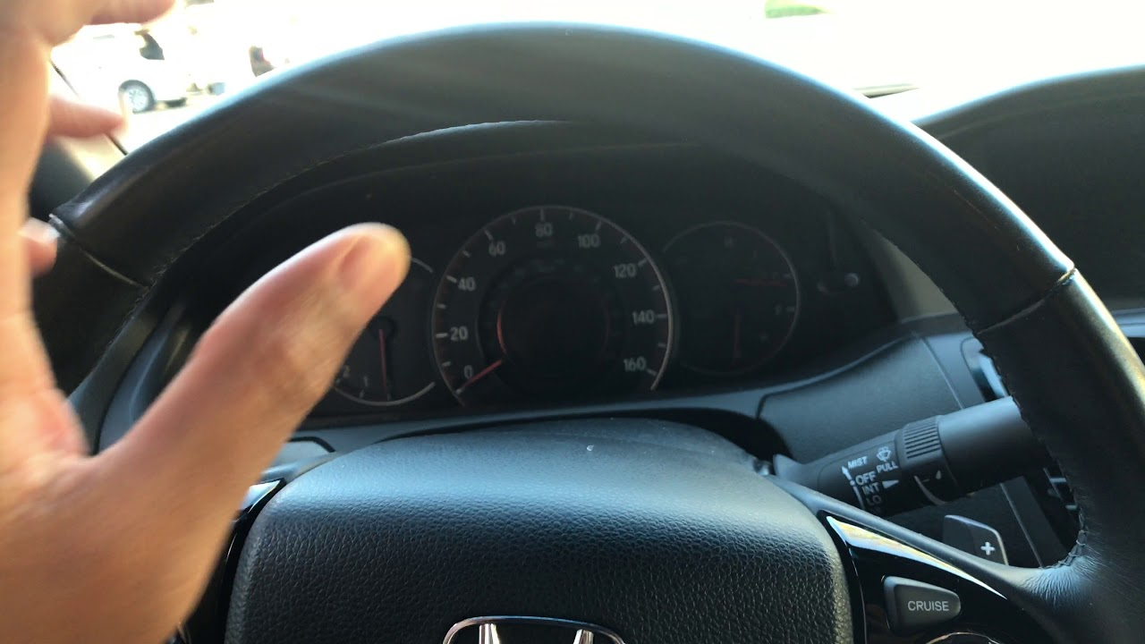 How To Open The Fuel Door Gas Cap On A Honda Accord