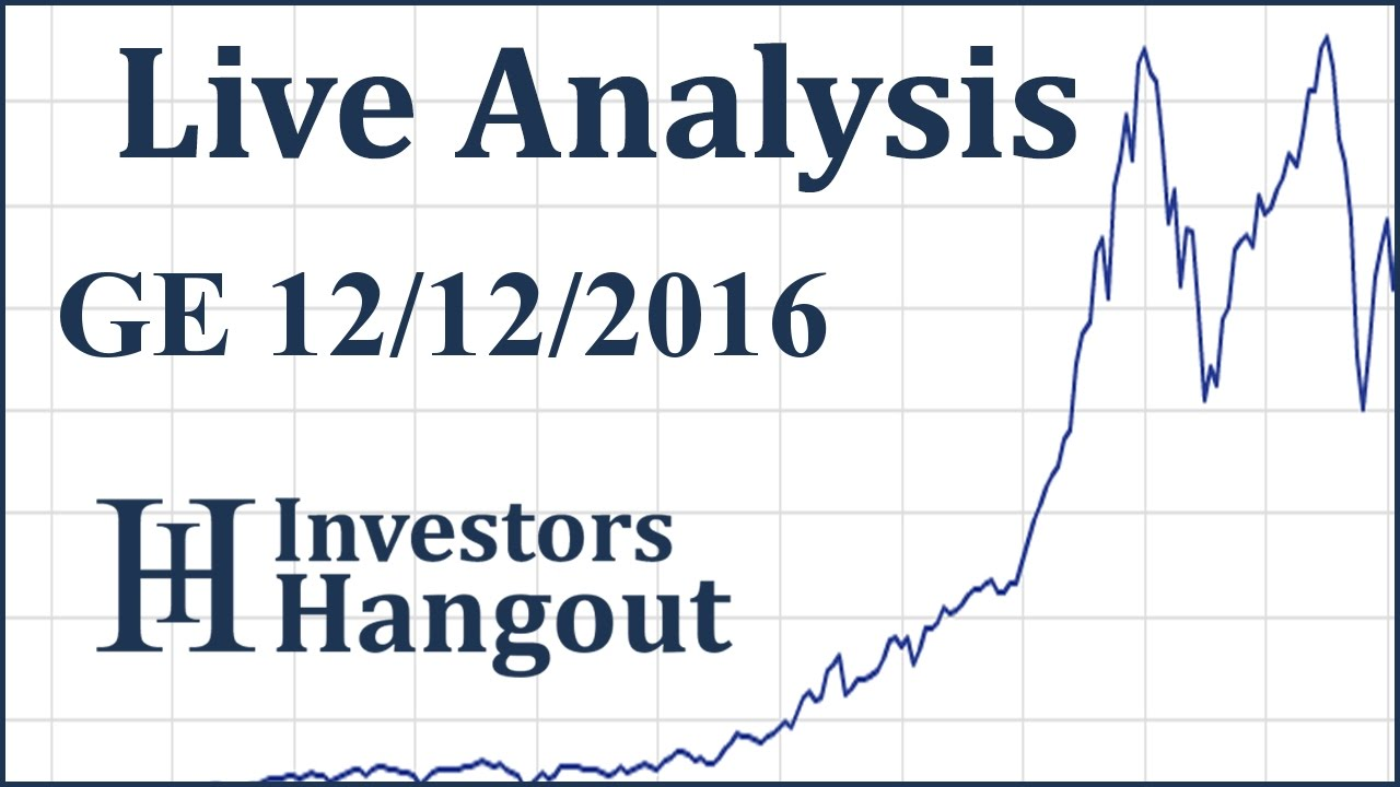 Ge stock live analysis 12 12 2016 youtube ge stock live analysis 12 12 2016 biocorpaavc Images