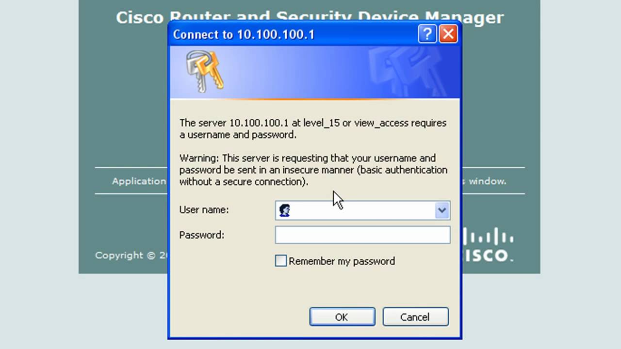 Installing Cisco Security Device Manager (SDM) Lab - Part 1