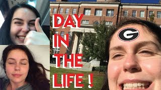 COLLEGE DAY IN MY LIFE AT THE UNIVERSITY OF GEORGIA