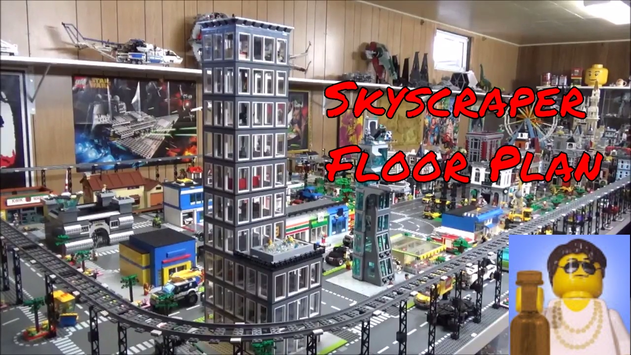 Lego City Skyscraper Update 2 Floor Plan Overview Youtube