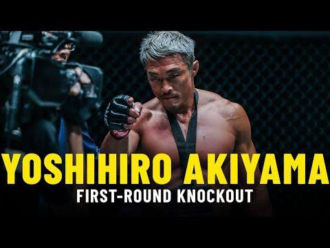Yoshihiro Akiyama's KNOCKOUT ONE Championship Debut