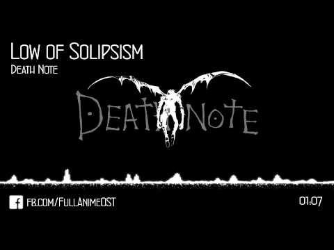 Death Note OST #23 - Low of Solipsism