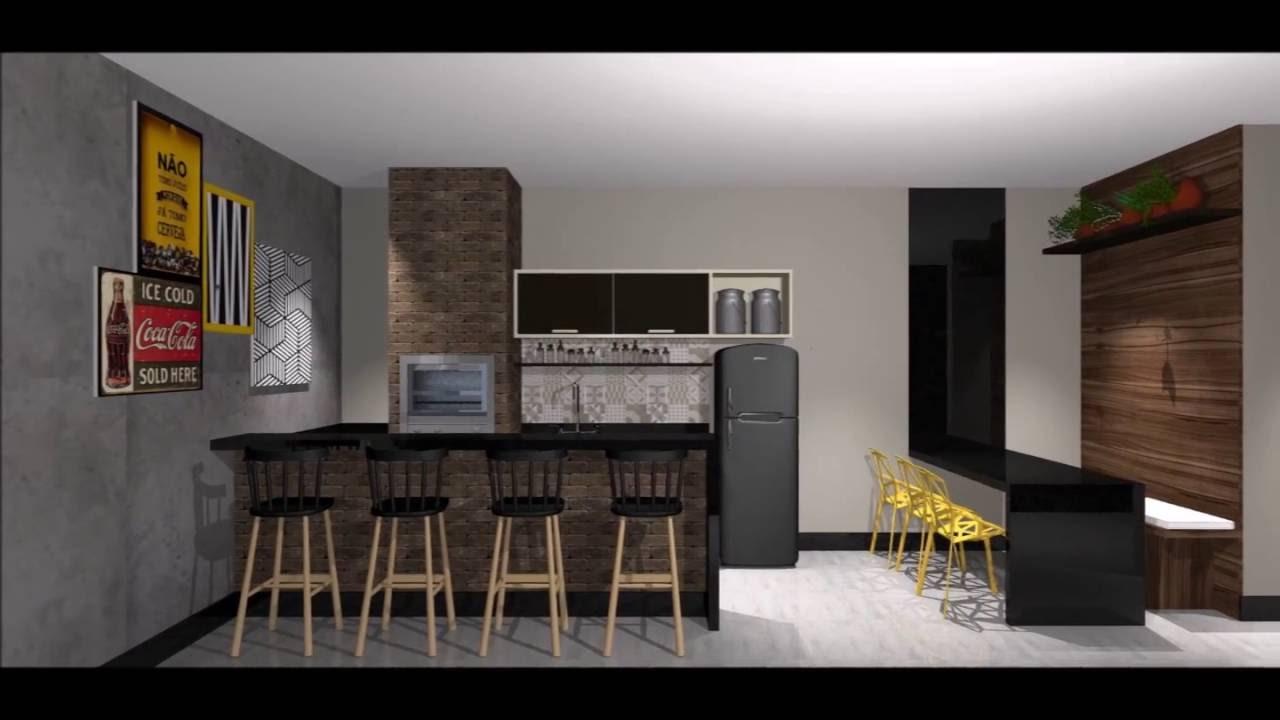 Projeto design de interiores para reforma de casa sobrado for Interiores de casas 2016