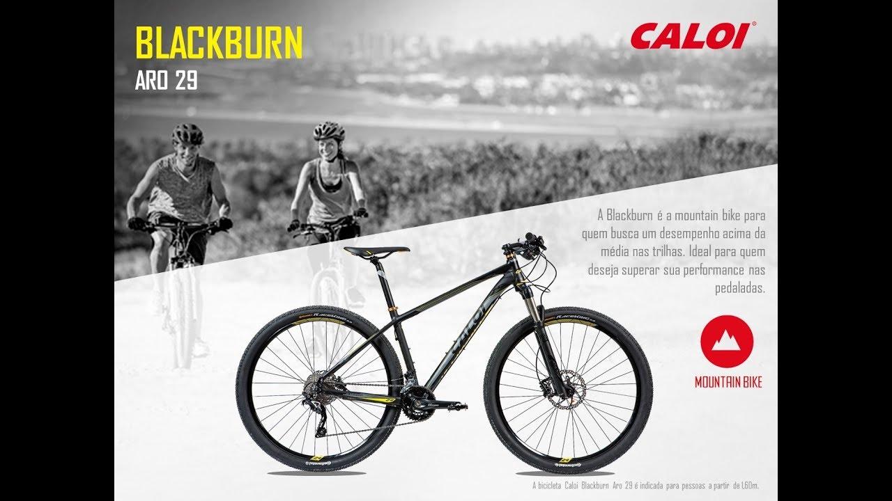 5ad3d2441 Caloi BlackBurn Aro 29 - Detalhes - YouTube