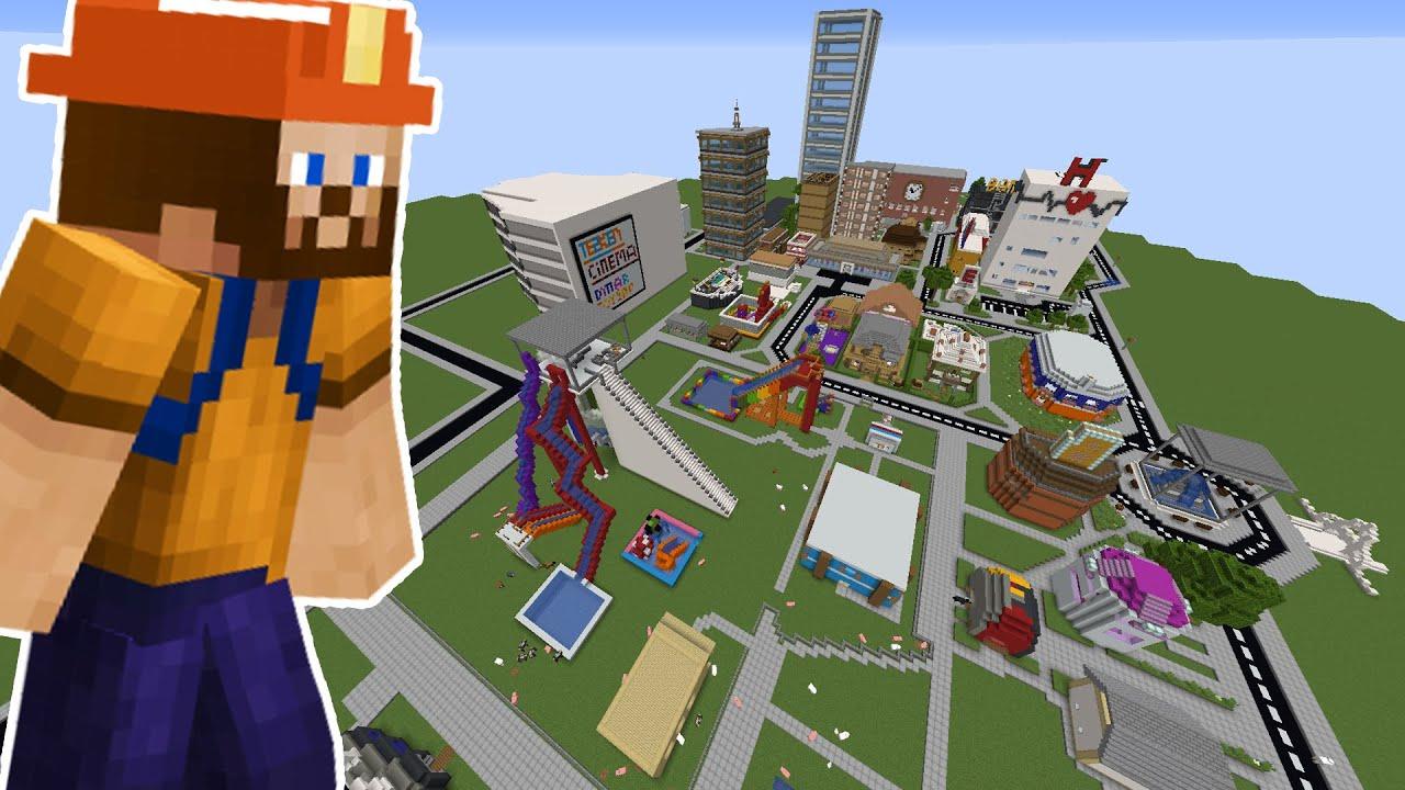 TAKİPÇİ YAPIMI DÜŞLER ŞEHRİ !!! | Minecraft