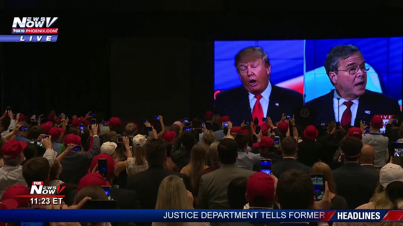 FOX 10 MASSIVE TRUMP INTRO: President Trump Welcomed At Turning Point USA