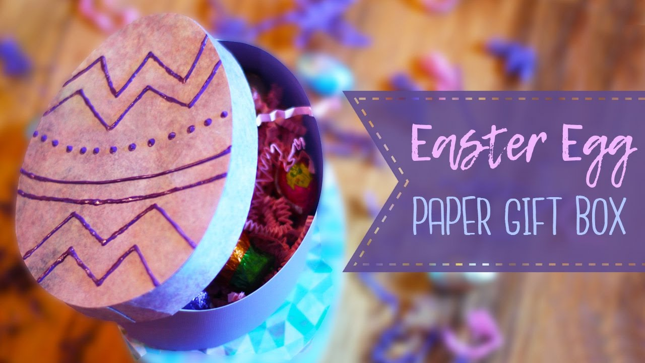 How to make an easter egg gift box diy gift box paper crafts how to make an easter egg gift box diy gift box paper crafts negle Image collections
