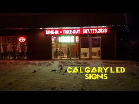 Calgary Led Signs