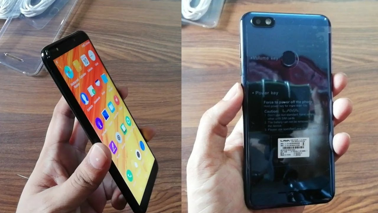 Lava Z91 UnBoxing Videos - Waoweo