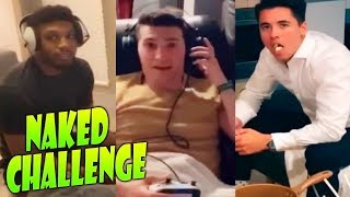 NAKED CHALLENGE!! EL RETO DEL D3SNUD0!! patty dragona