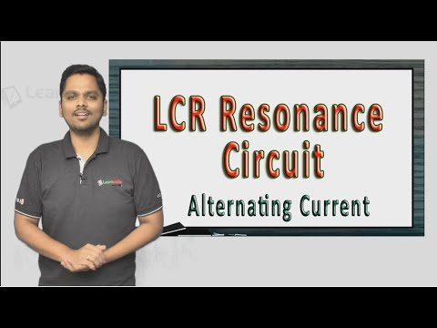 Simple trick to understand LCR Resonance Circuit. NEET Physics XII Alternating Current