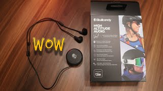 Skullcandy Vert unique Clip based earphones can be used with Helmet!