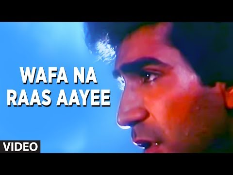 Wafa Na Raas Aayee [Full Song] | Bewafa Sanam | Krishan Kumar, Shilpa Shirodkar