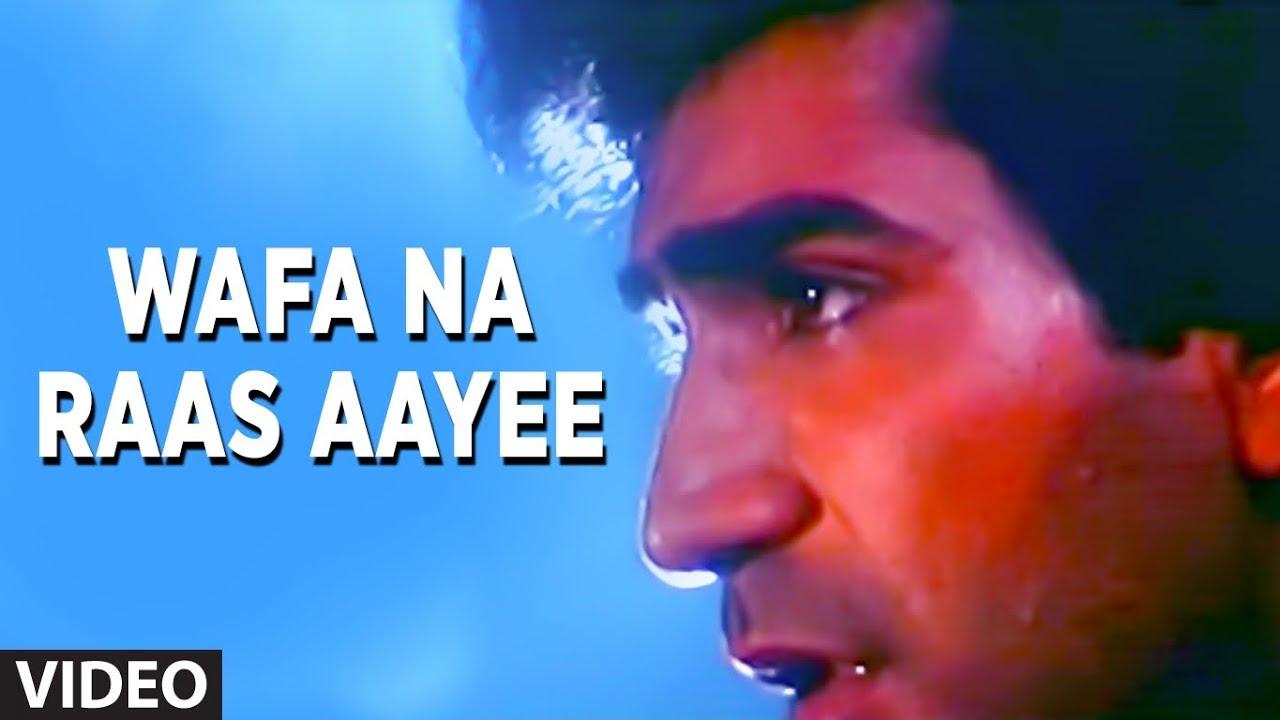 Wafa Na Raas Aayee [Full Song] | Bewafa Sanam | Krishan Kumar, Shilpa Shirodkar #1