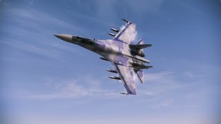 Ace Combat Infinity Su-35 Scarface1 20 lv. NEW, B7R and B7R Hard