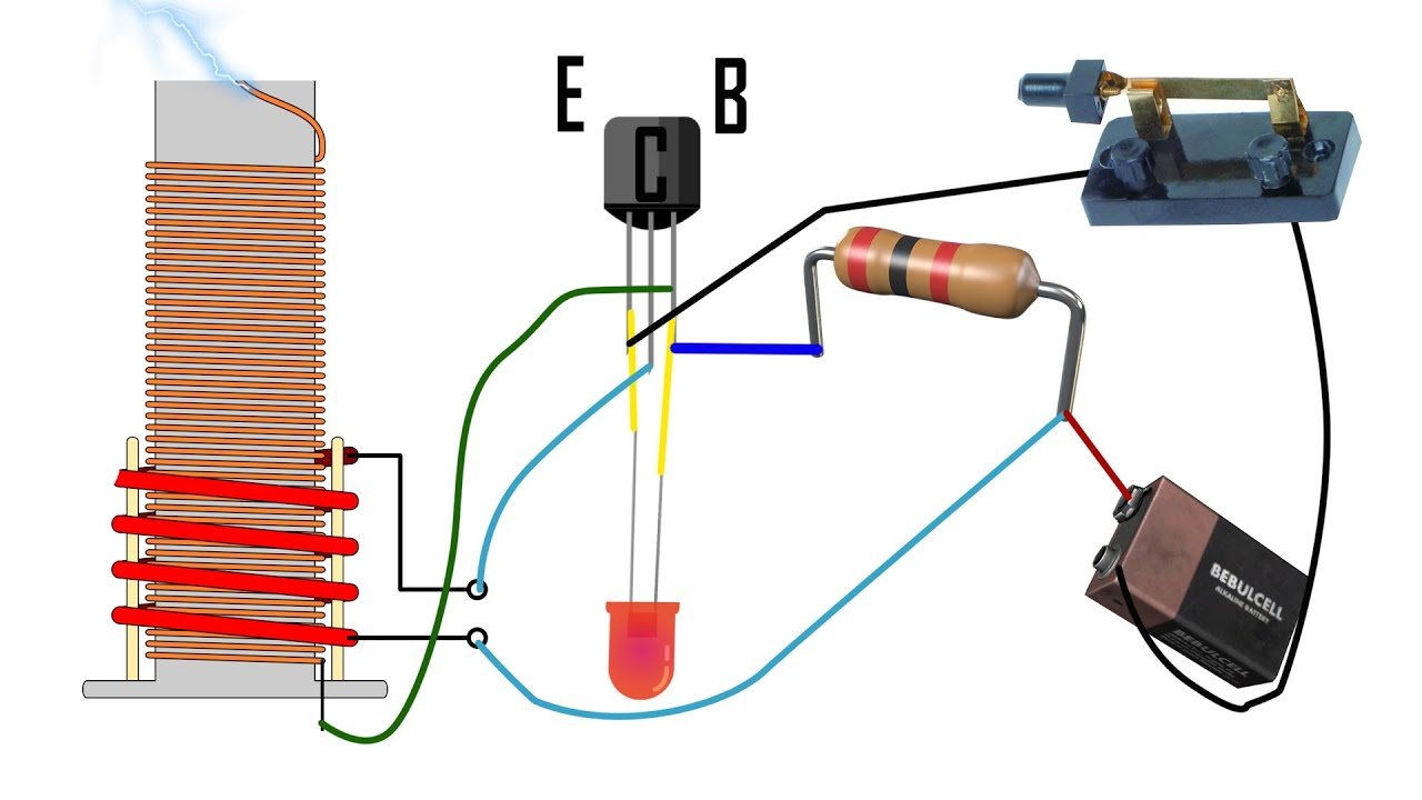 diy tesla slayer exciter coil tutorial mini how to build easy simple tesla coil diagram diy [ 1280 x 720 Pixel ]