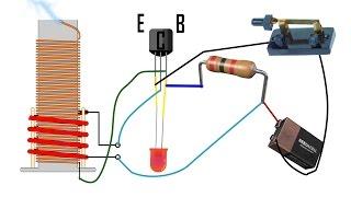 DIY Tesla Slayer Exciter Coil Tutorial Mini How to Build Easy Circuit Explanation