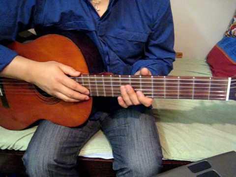 Bai Tap 6 Guitar - Tinh Khuc Buon - Ngo Thuy Mien